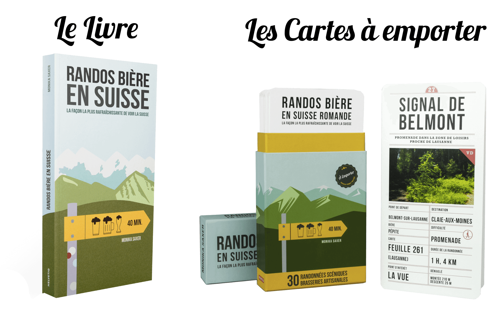 randonnée bière artisanale suisse