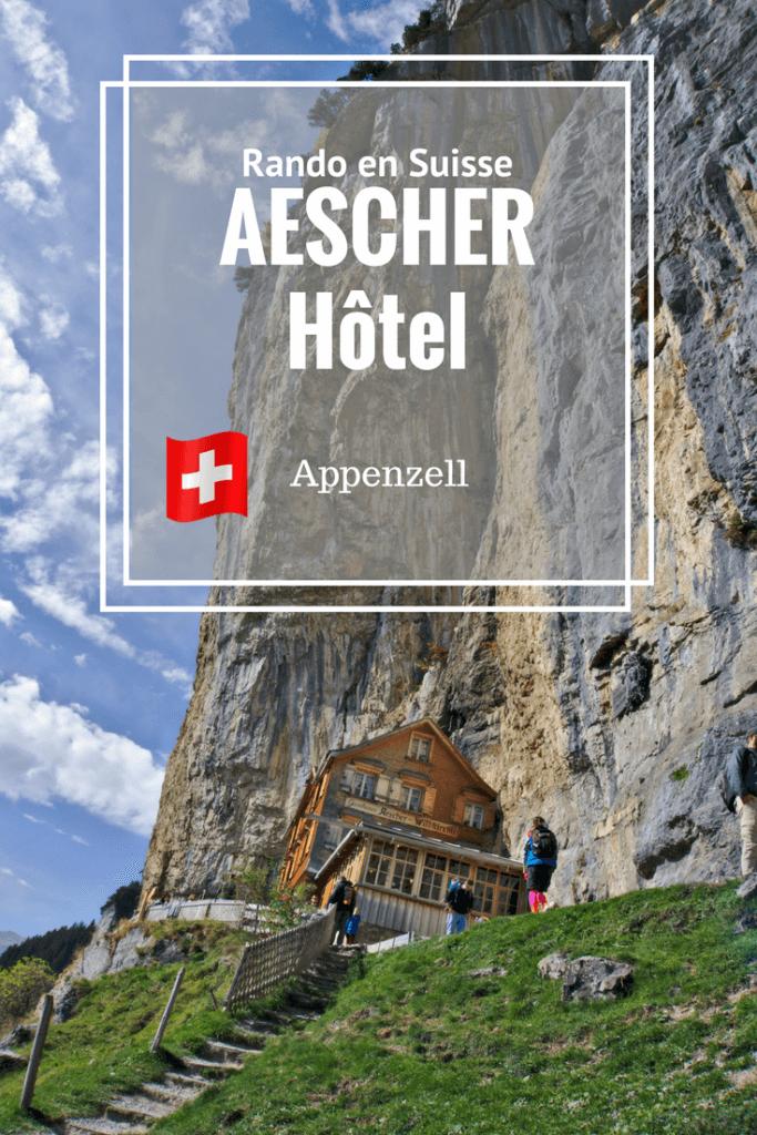 un hôtel atypique en suisse