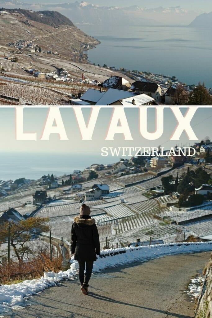 lavaux in winter