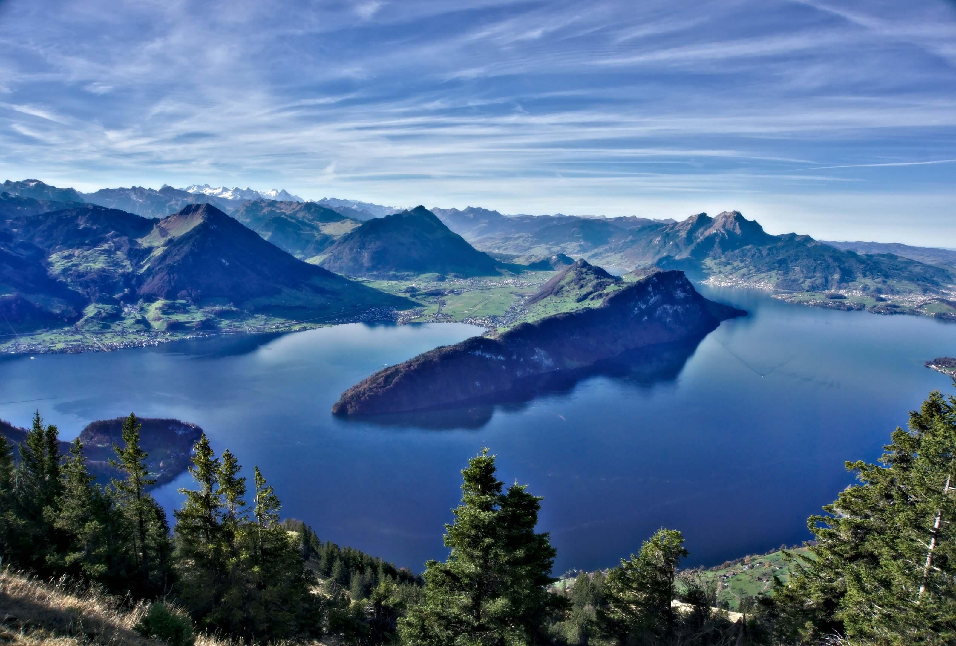 rigi, lac des 4 cantons