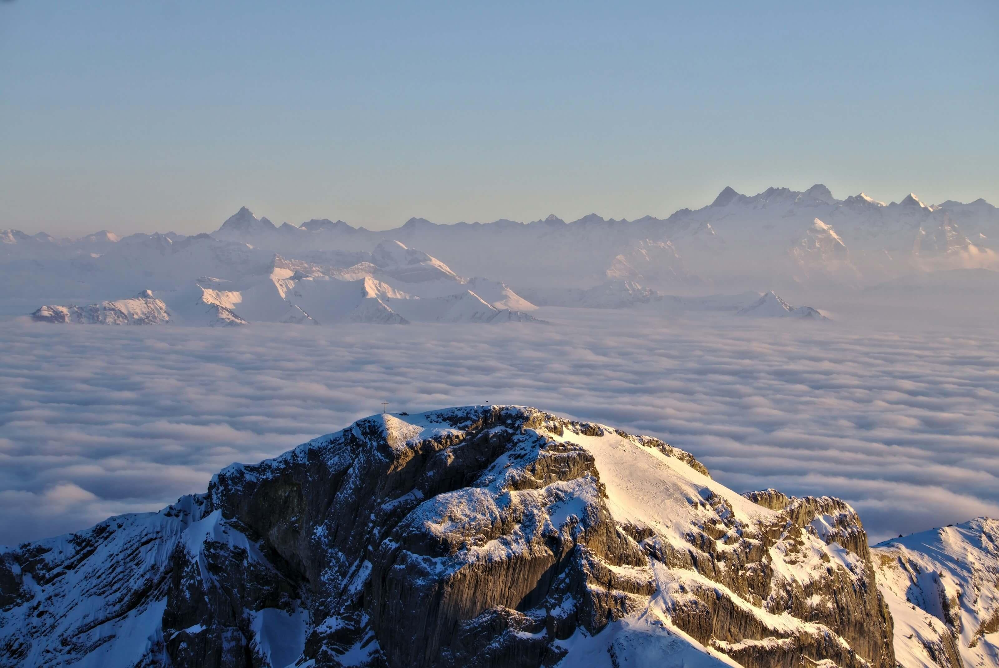 vue depuis le mont pilatus