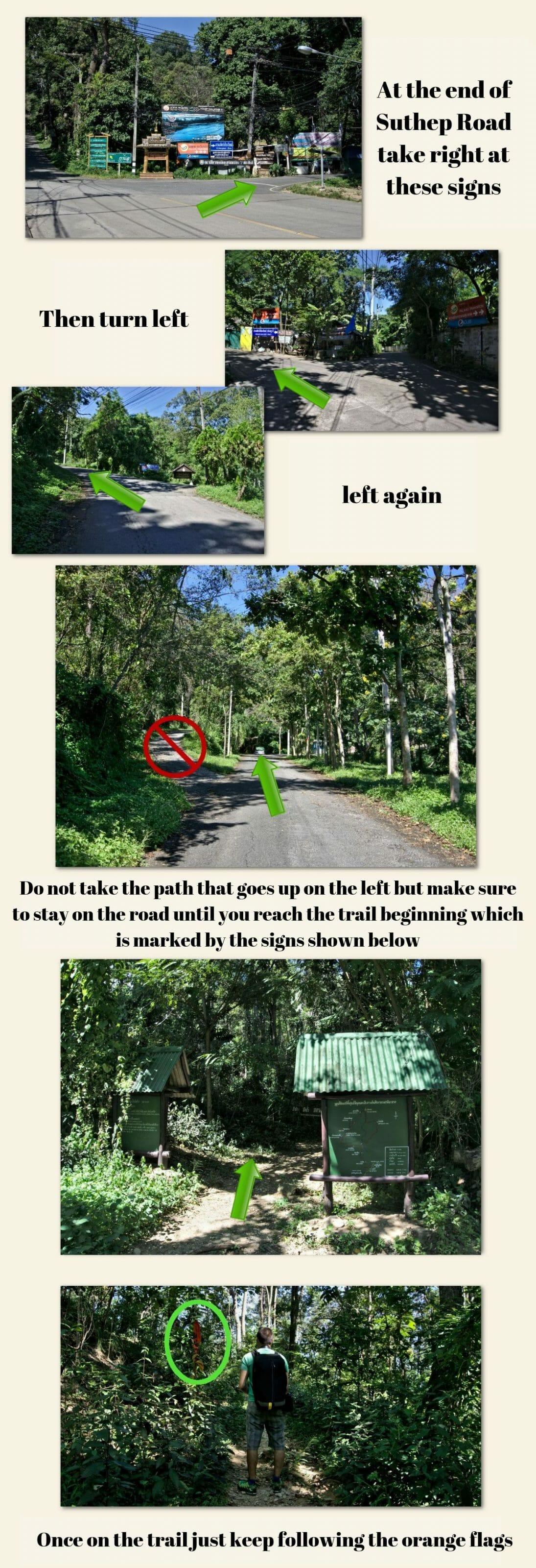 hike up to doi suthep
