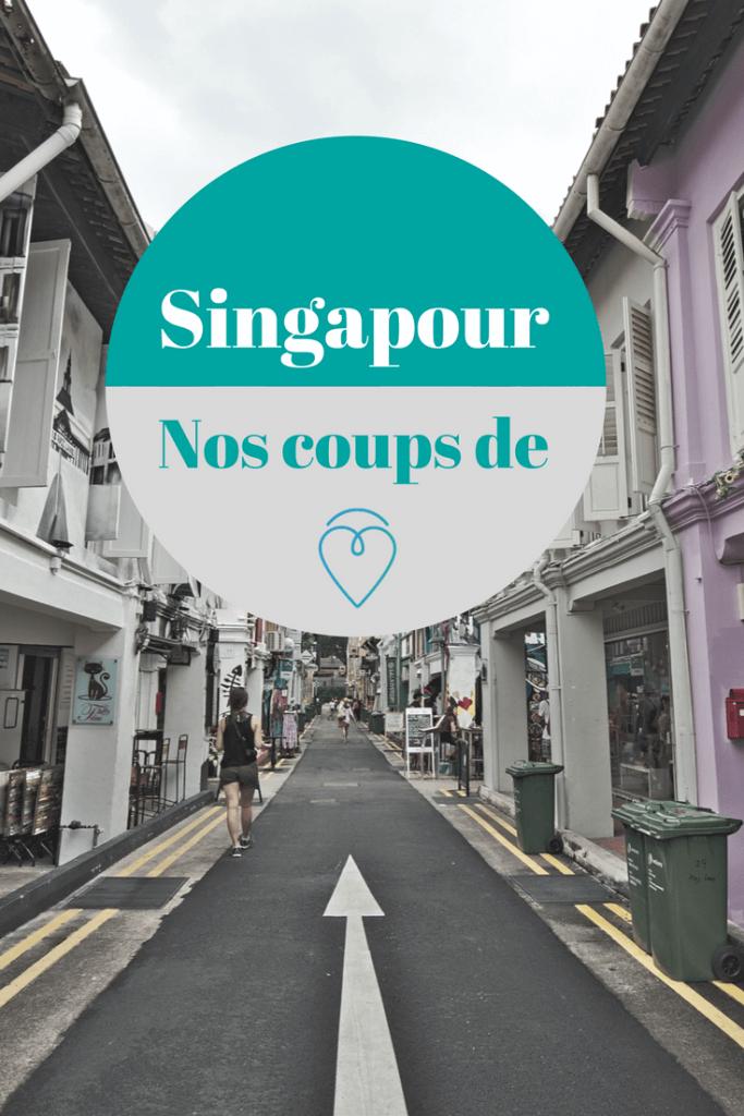 immanquables de singapour
