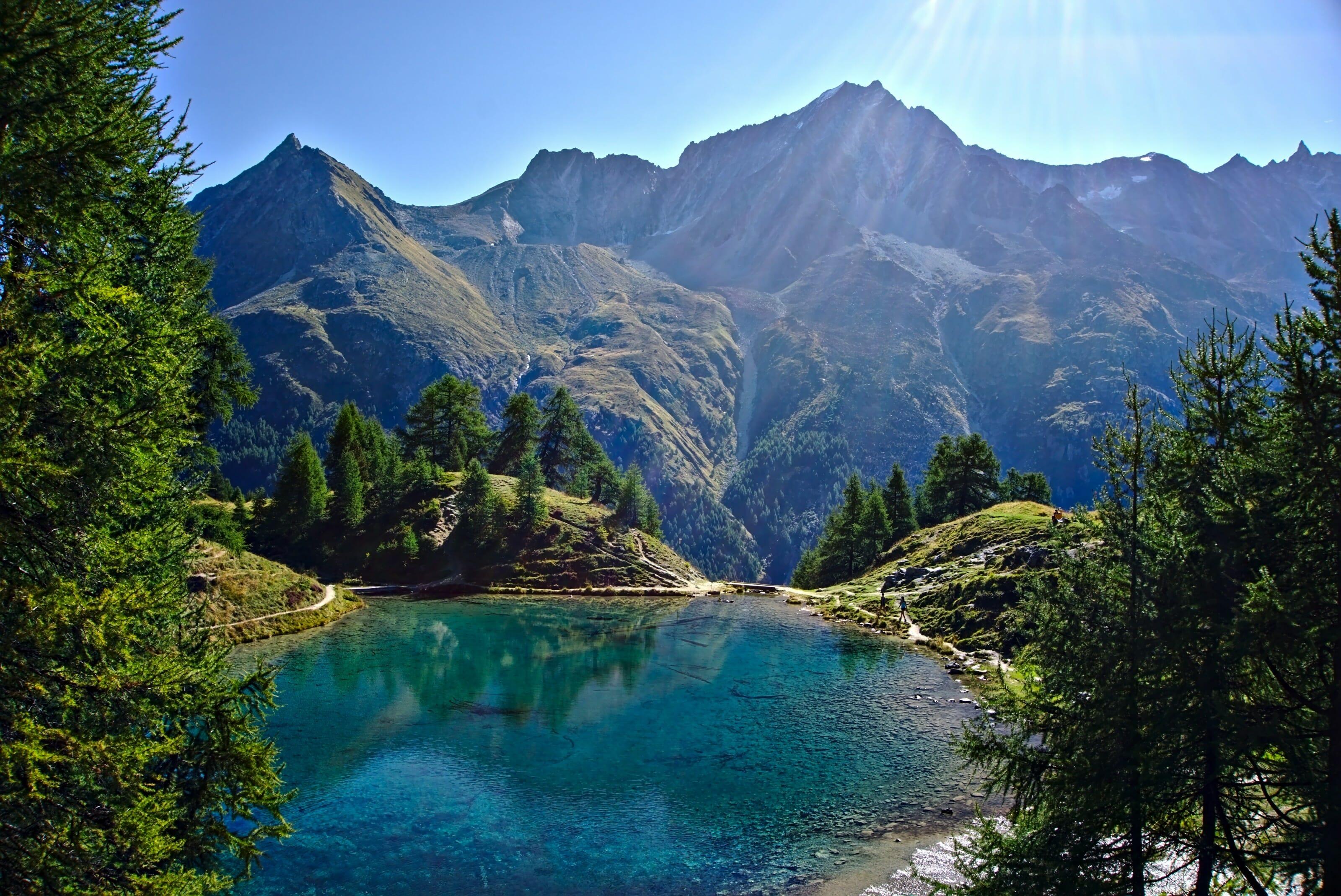 lac bleu, valais