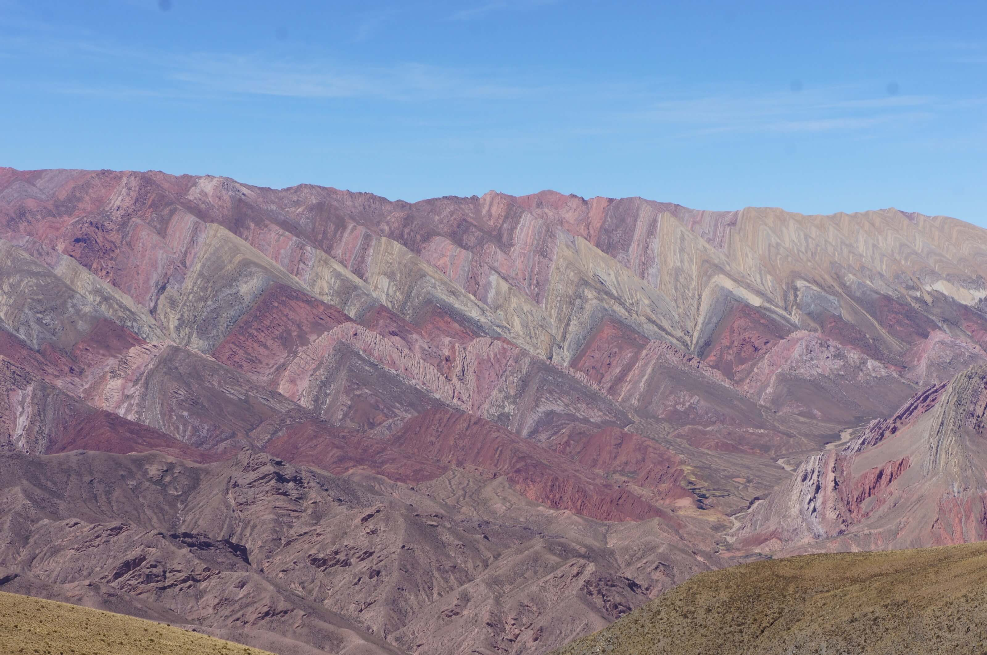 montagne colorée argentine