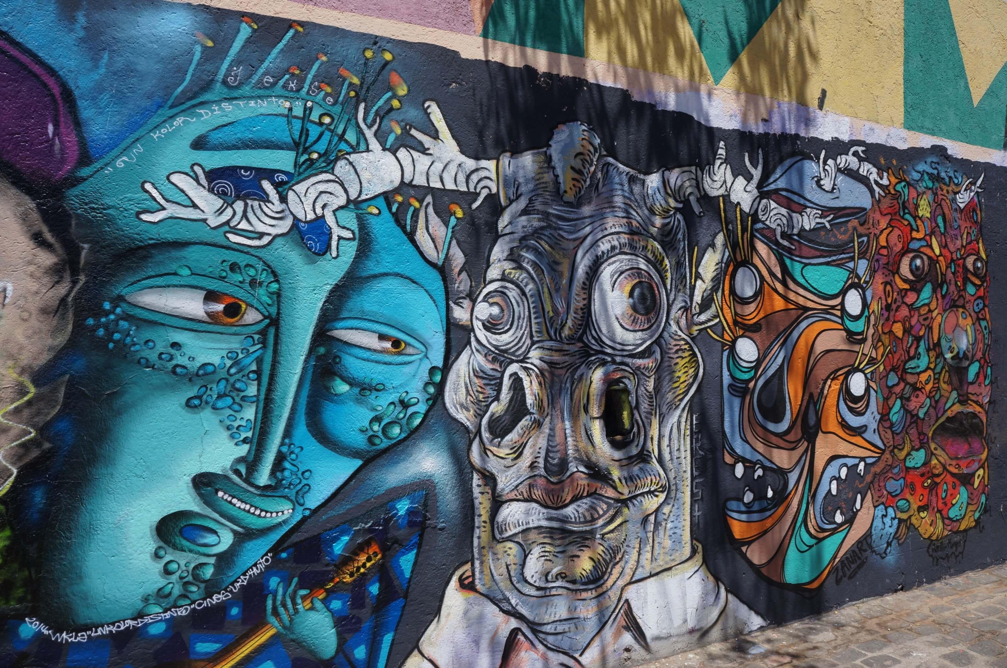 valparaiso streetart