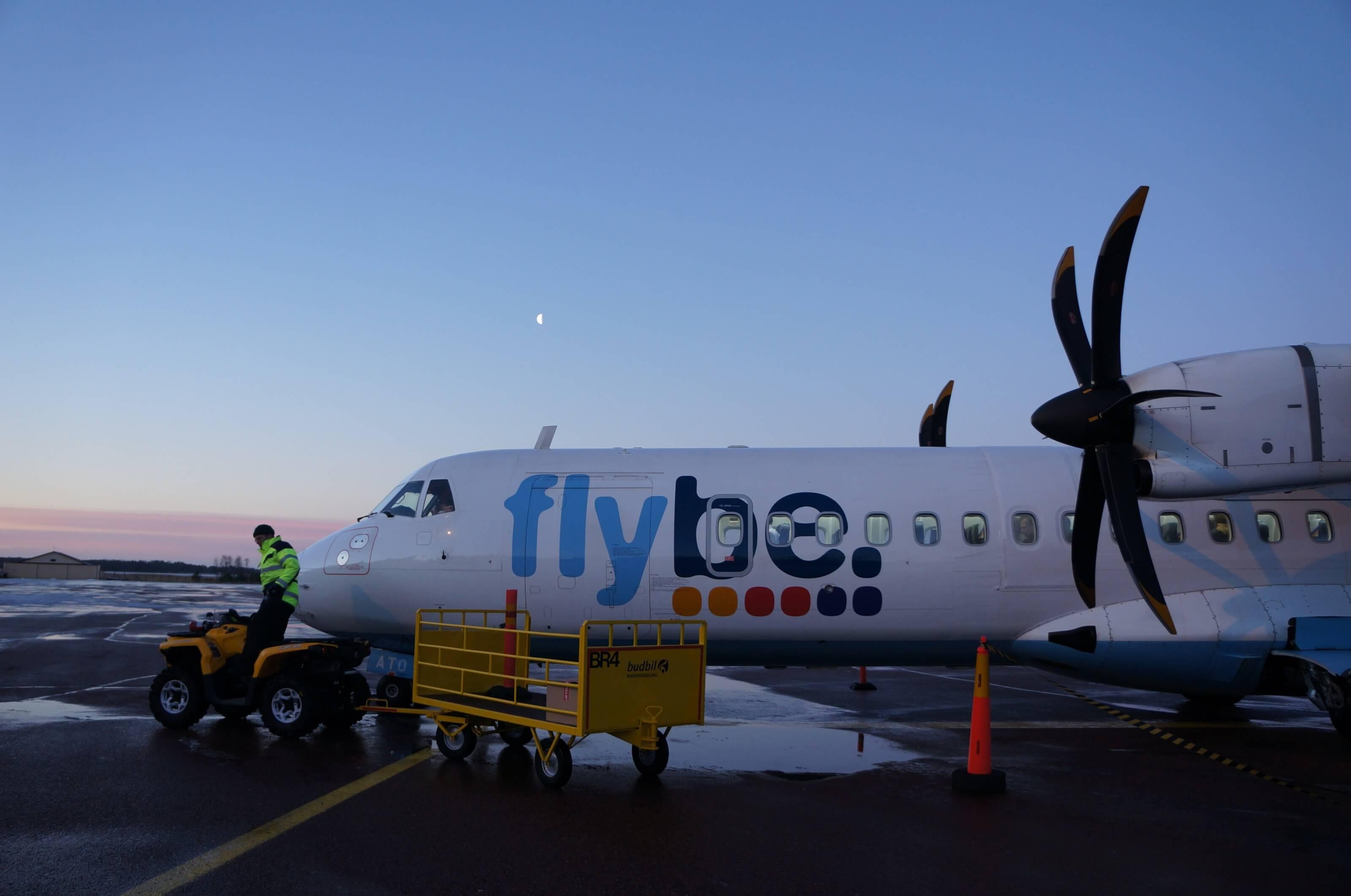 avion de ligne finlande