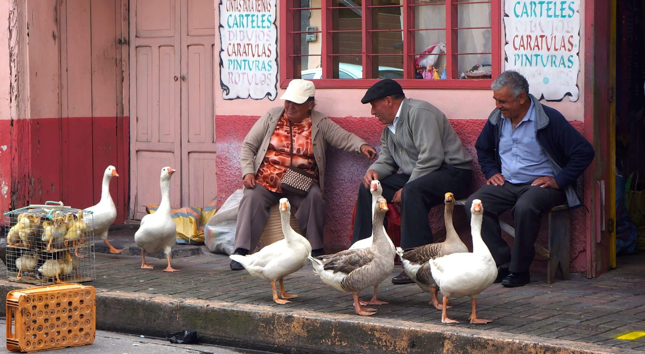 banos, vie en equateur