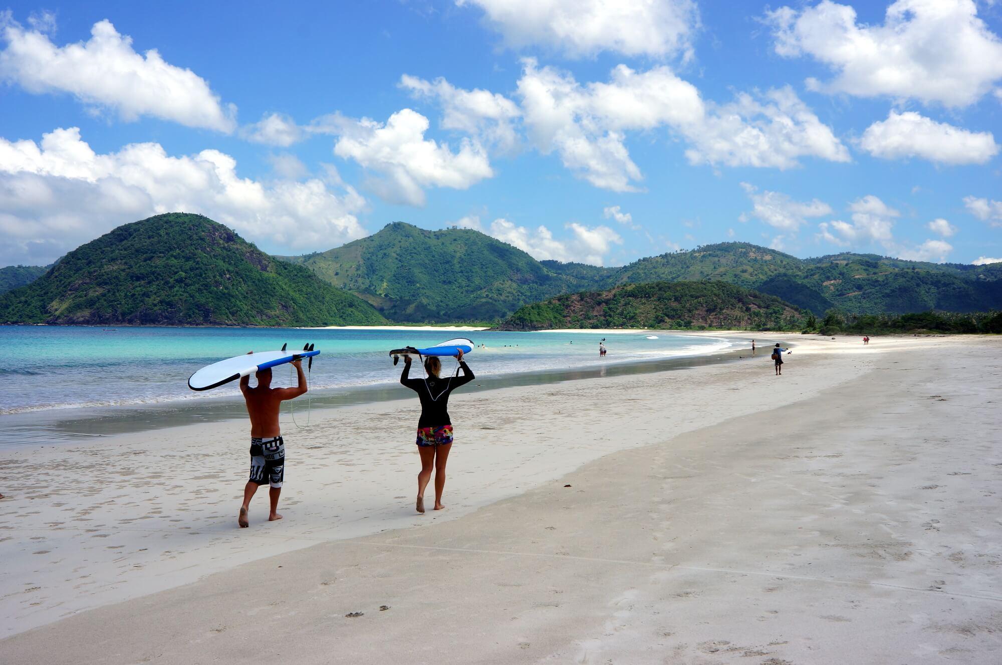 plage de rêve indonésie