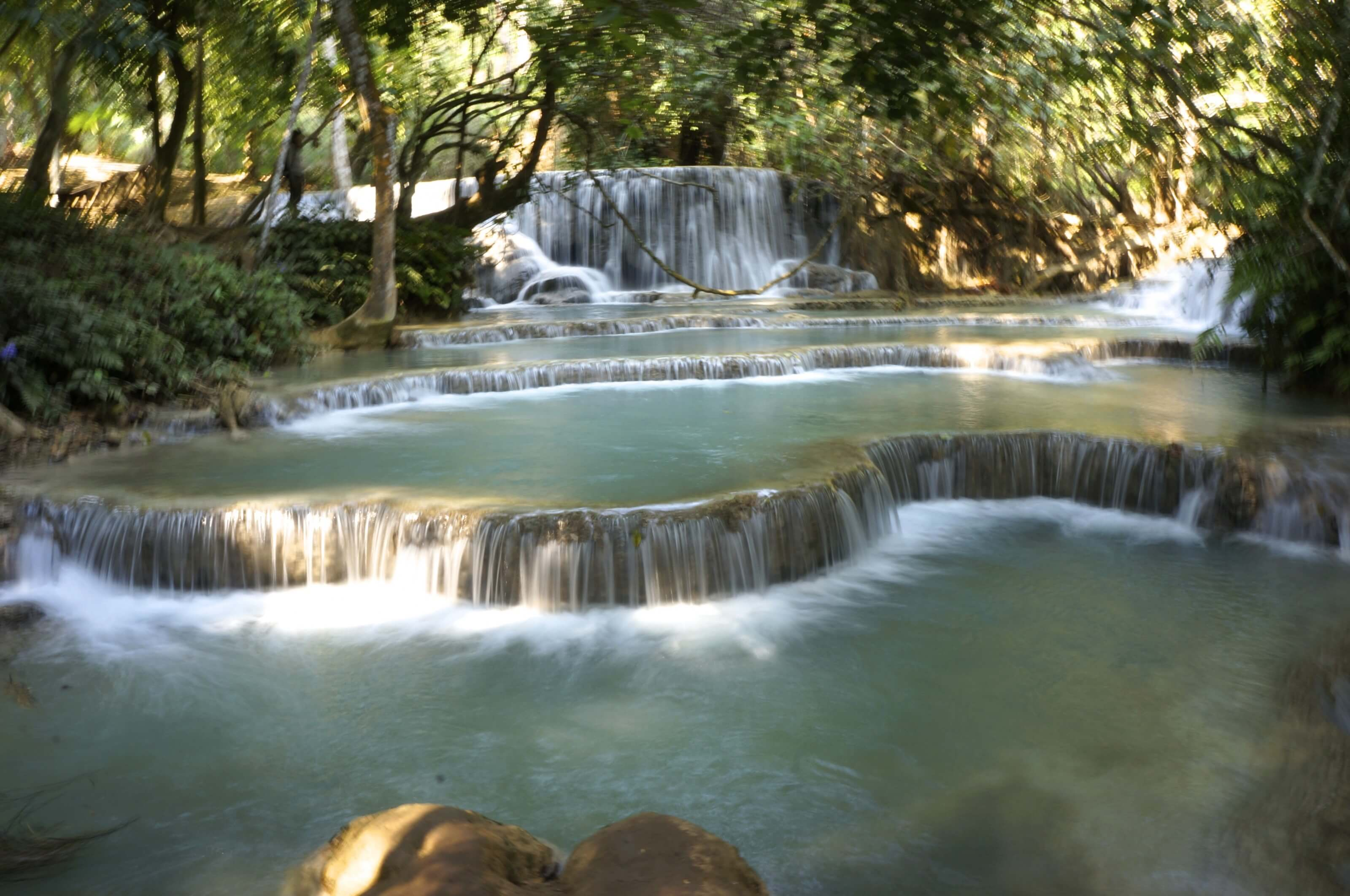 cascade Laos