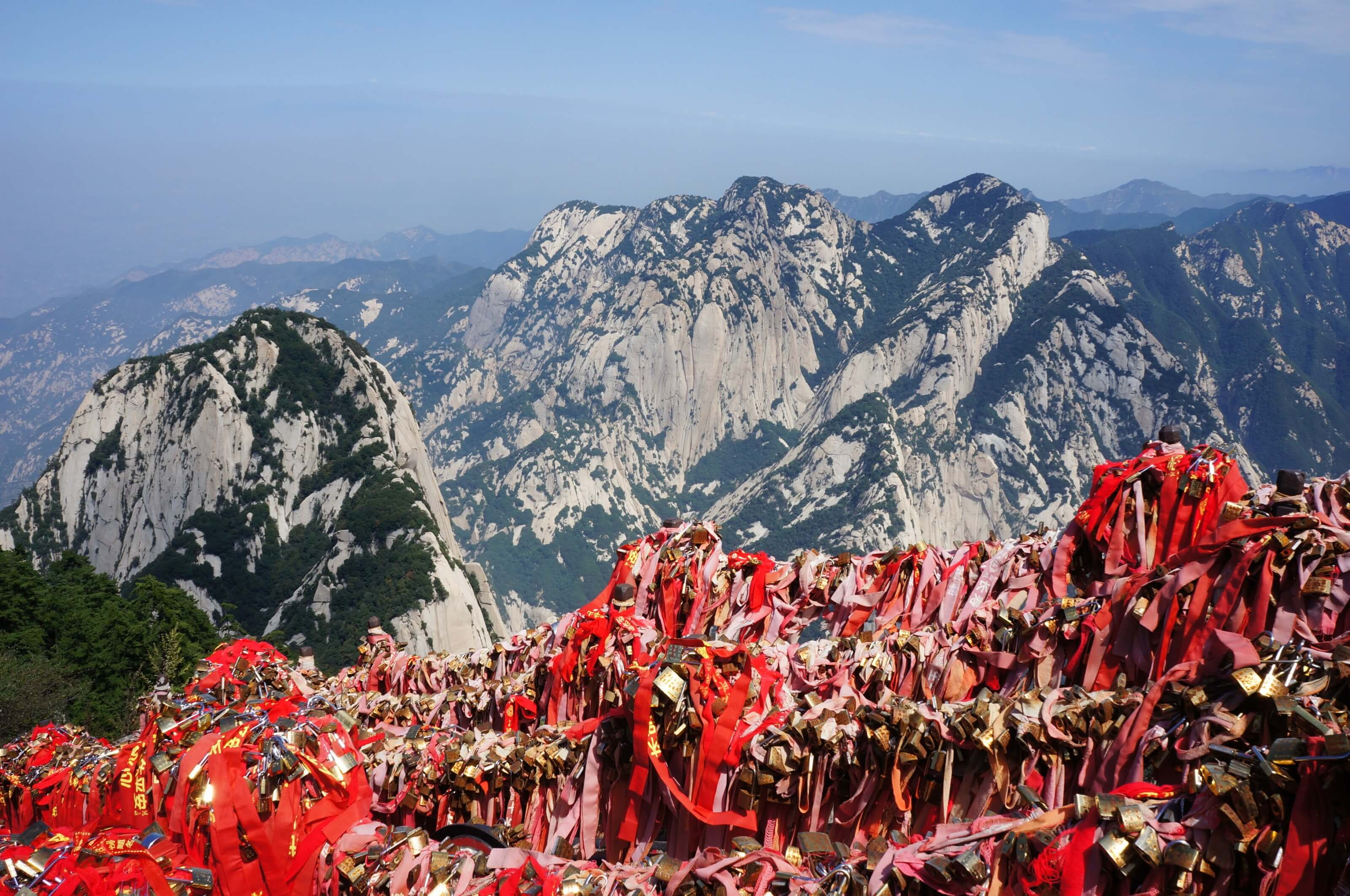 Mont Hua, Chine