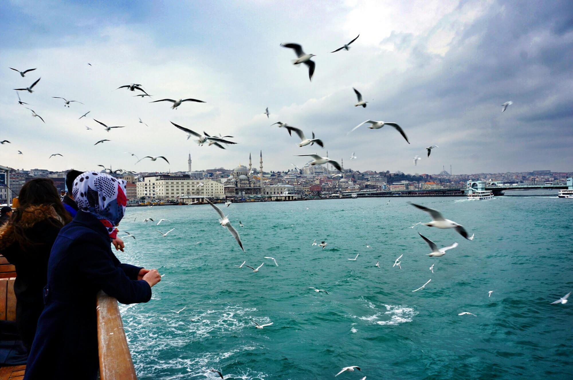 istanbul en hiver