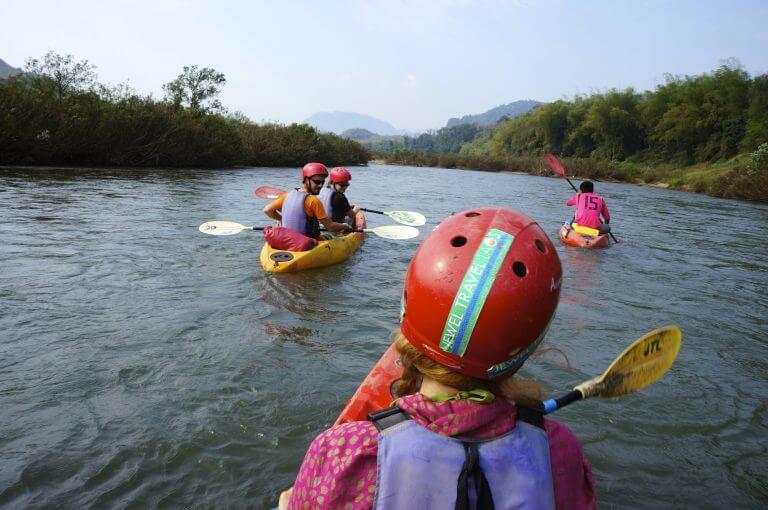 laos en kayak
