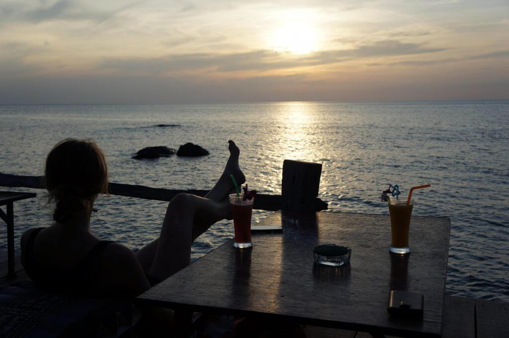 Koh Chang coucher de soleil
