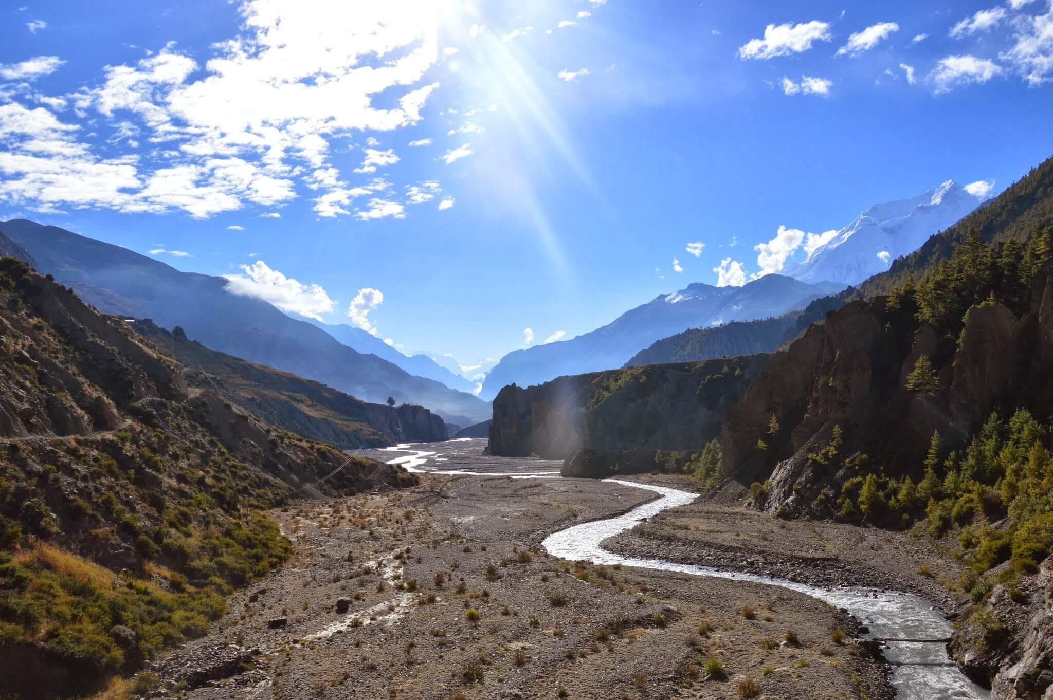 trekknig au Népal