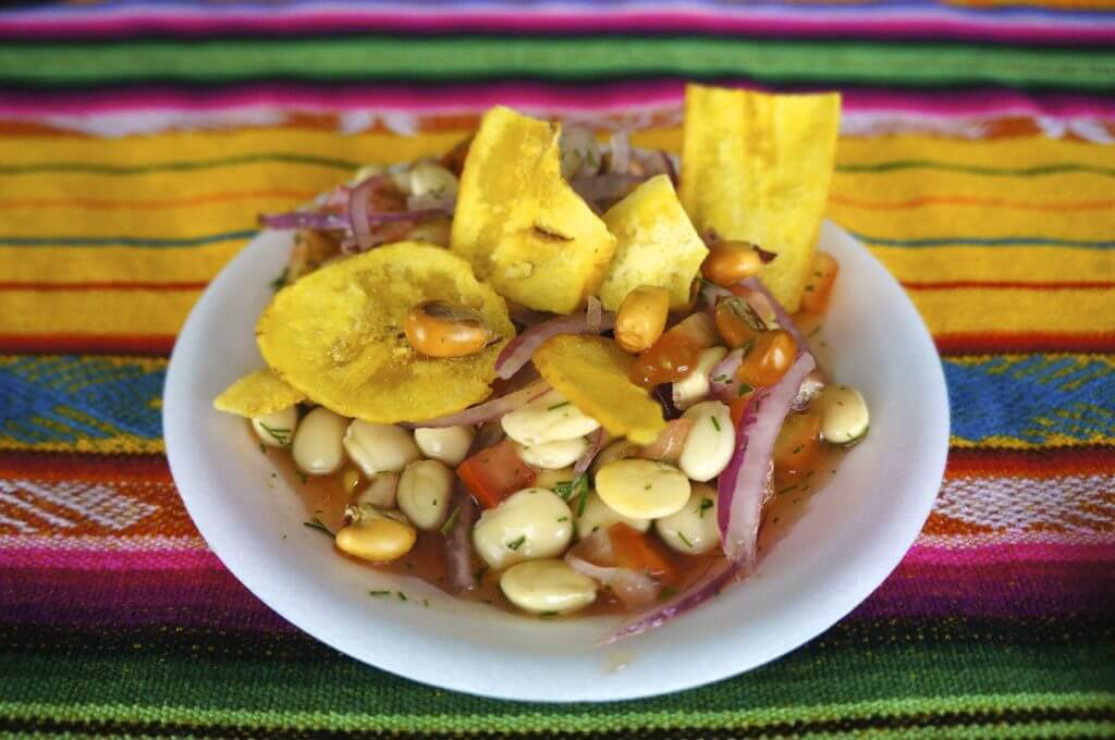 local cuisine in Ecuador