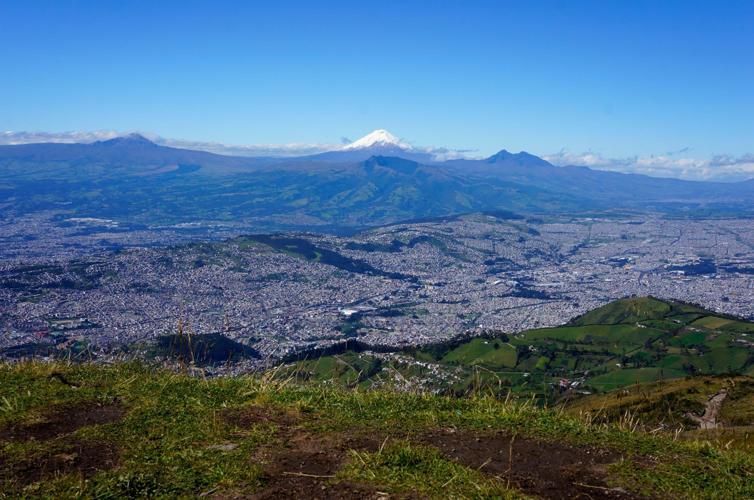 Quito, capitale de l'Equateur