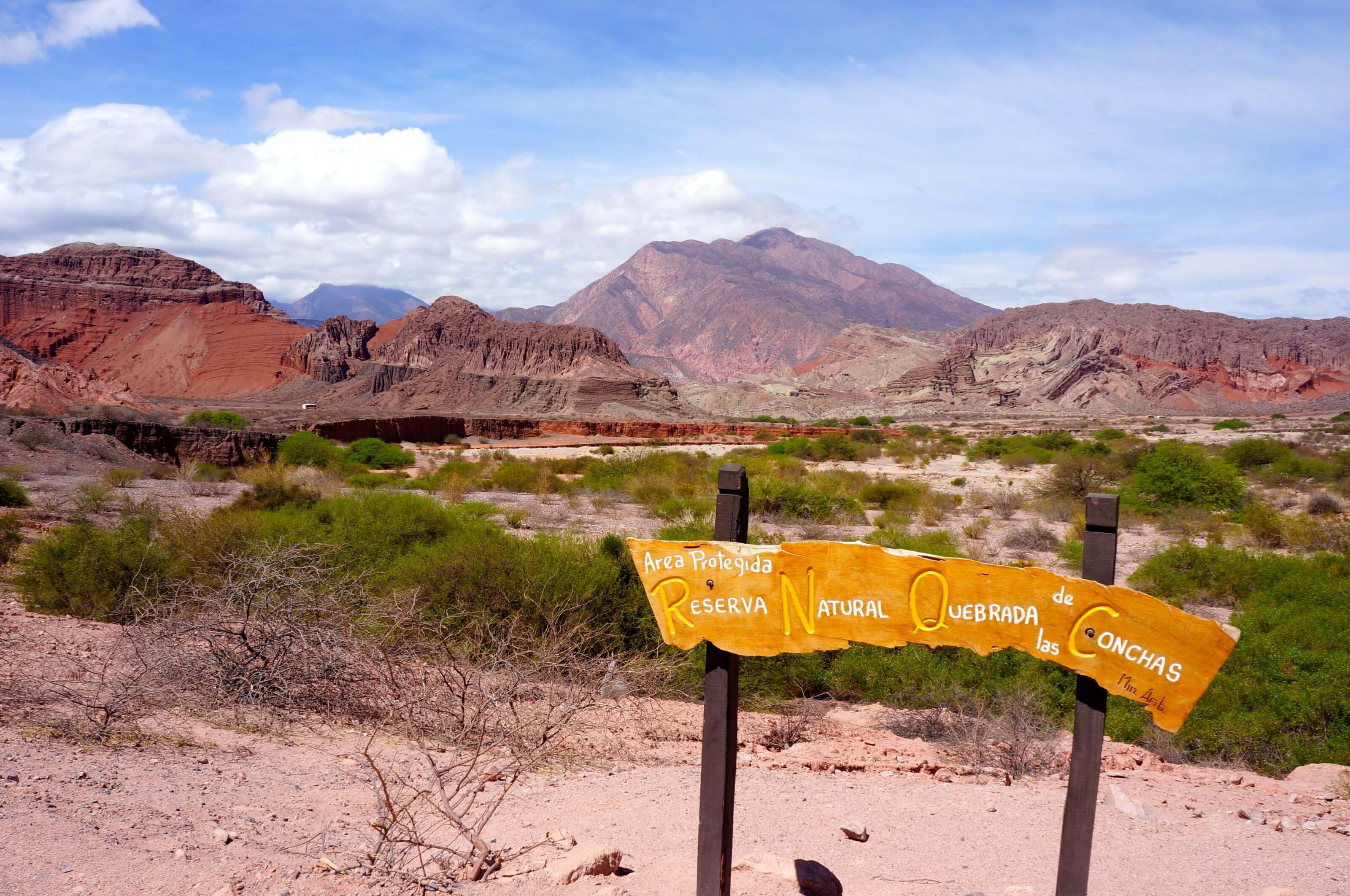 montagnes colorées en Argentine