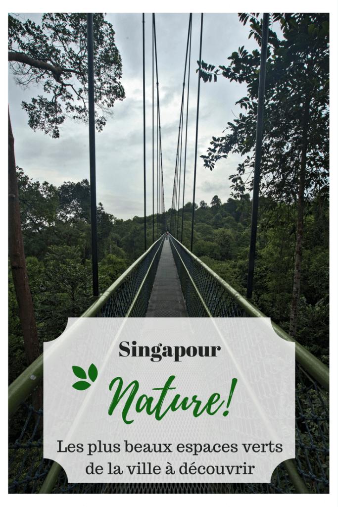 Les parcs de Singapour