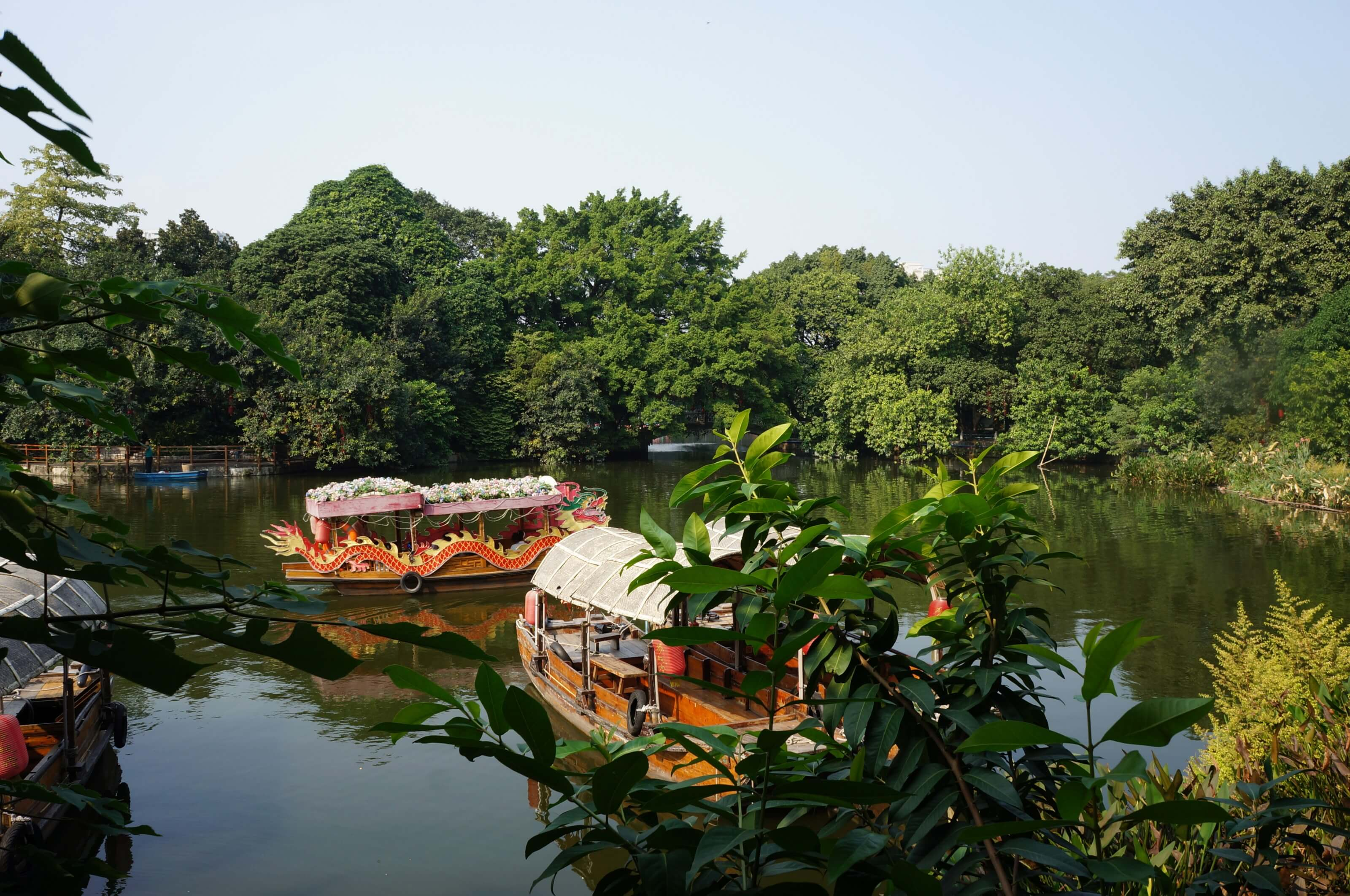 bateau en chine