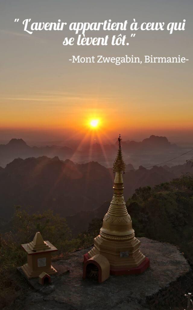nuit avec les moines en Birmanie