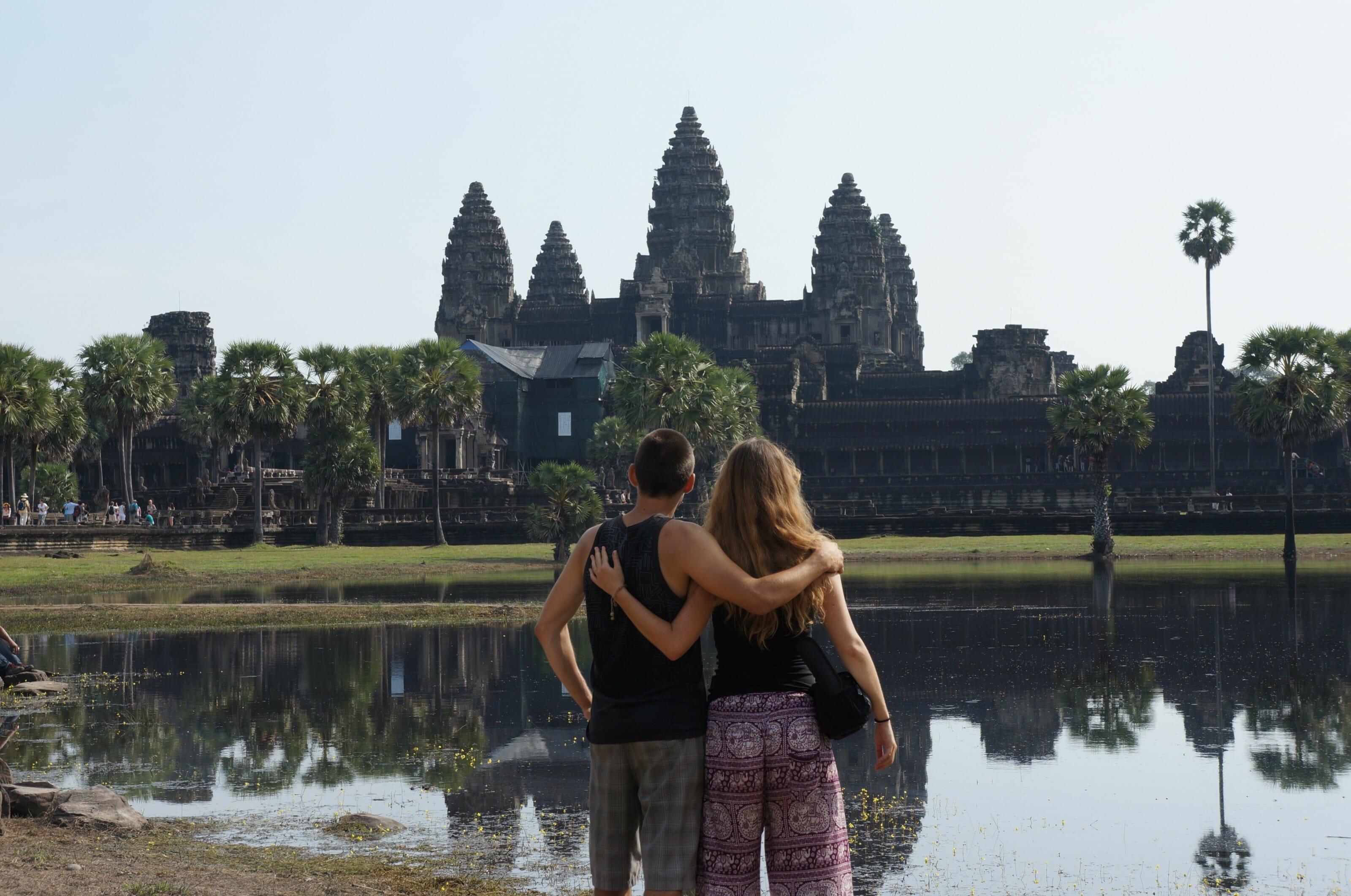 les temples d'angkor au cambodge