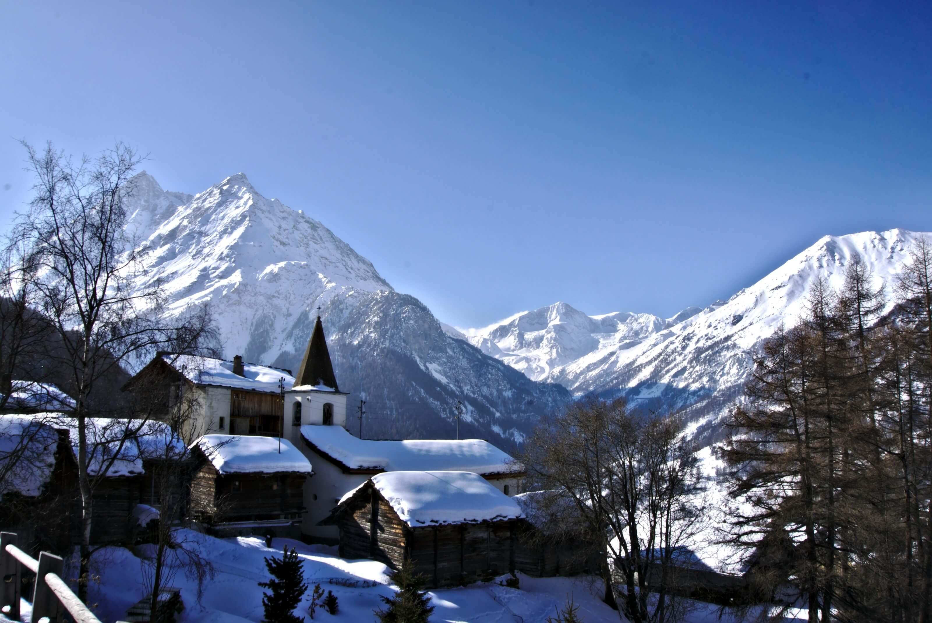 ski swiss alps