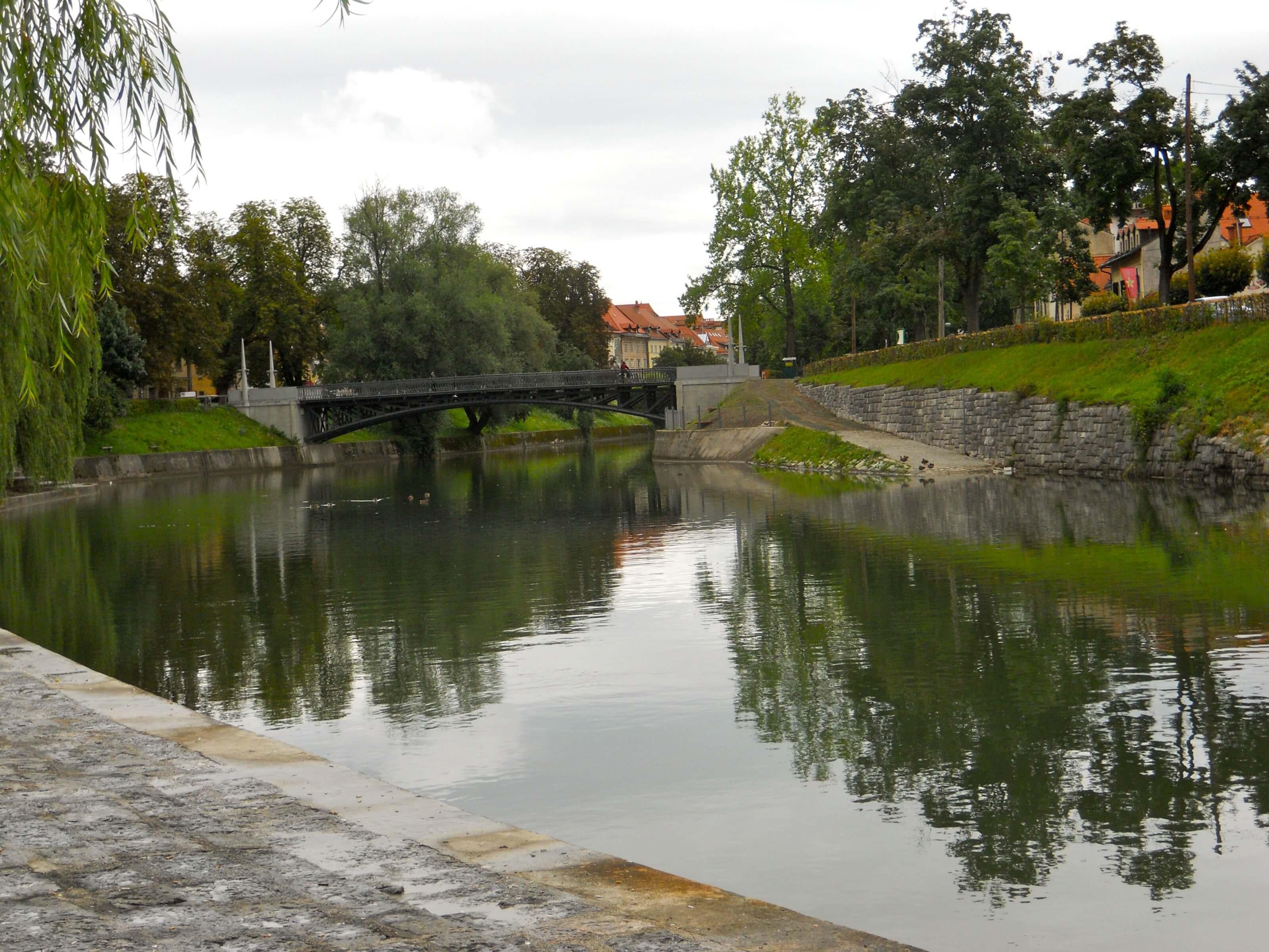 la capitale de la Slovénie