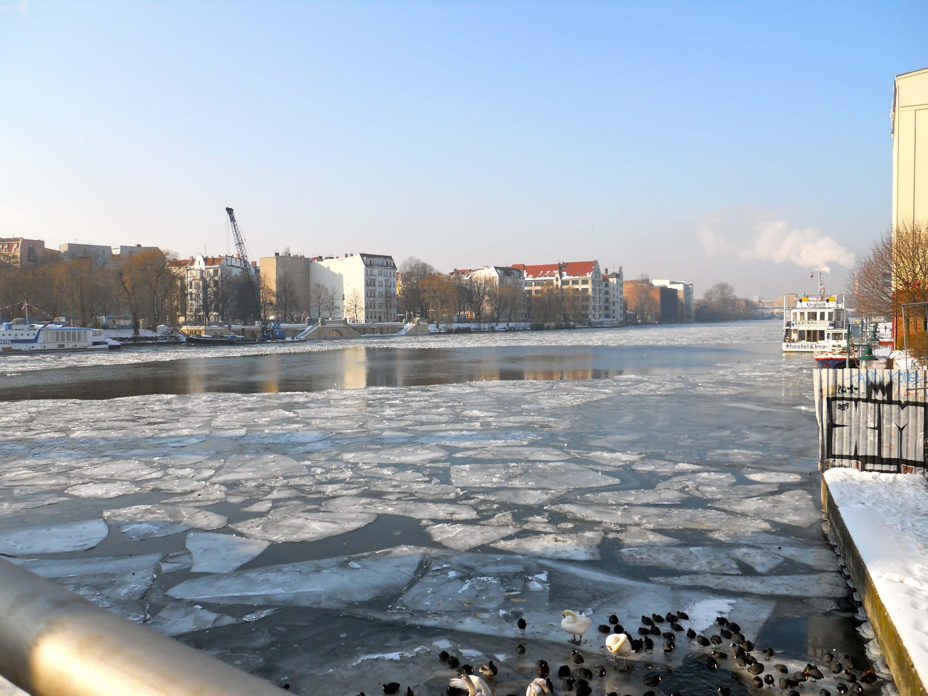 berlin sous la neige