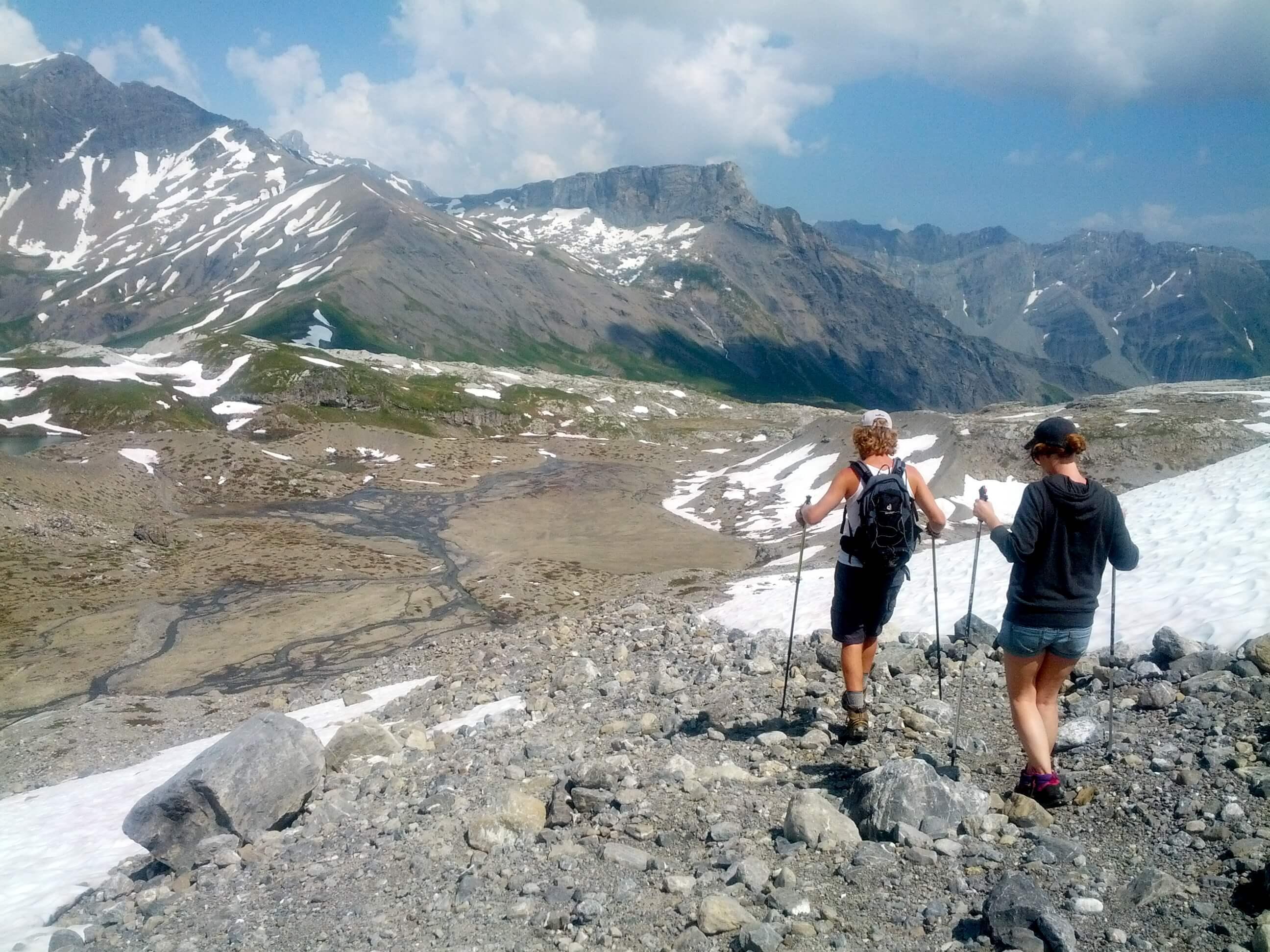 sanetsch suisse, randonnée