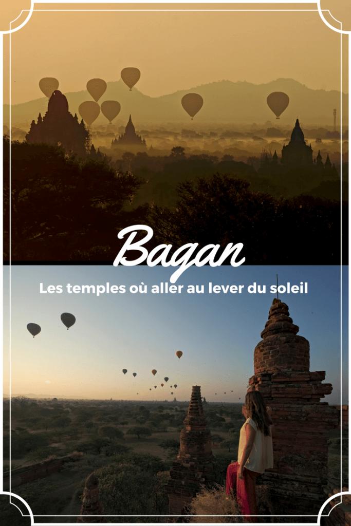 ou voir le lever de soleil à Bagan