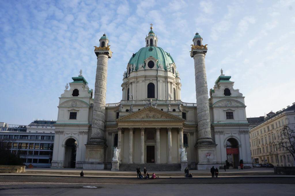 saint charles church in Vienna