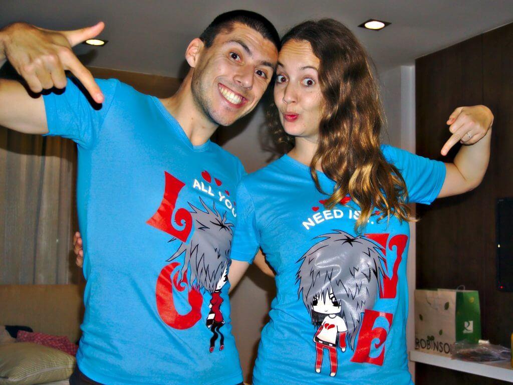 T-shirt de couple