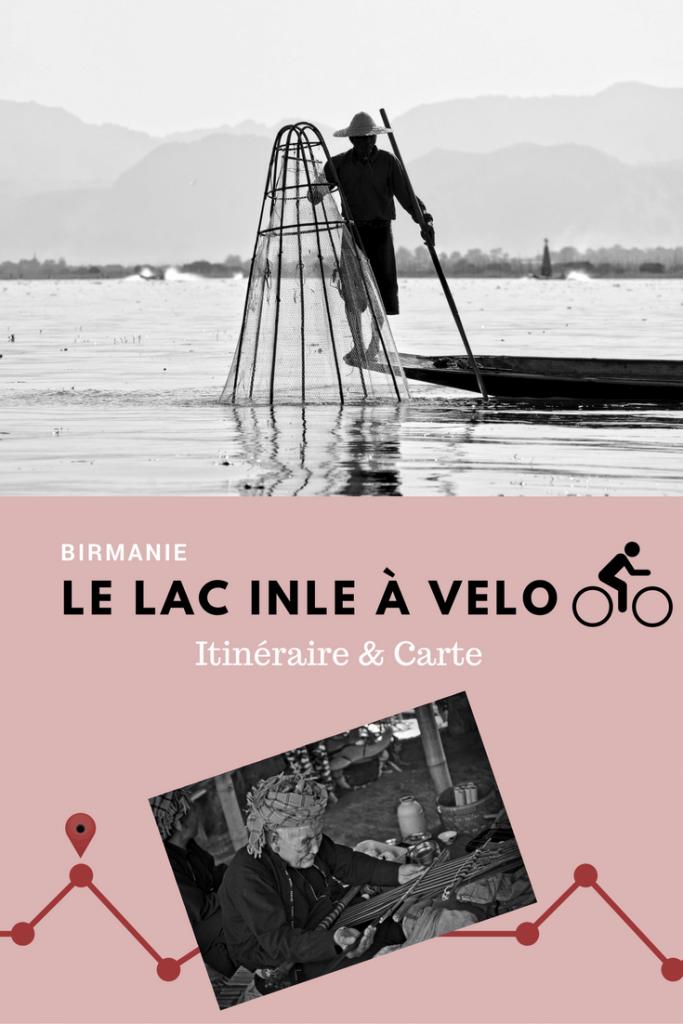 visite du lac inle à vélo - birmanie