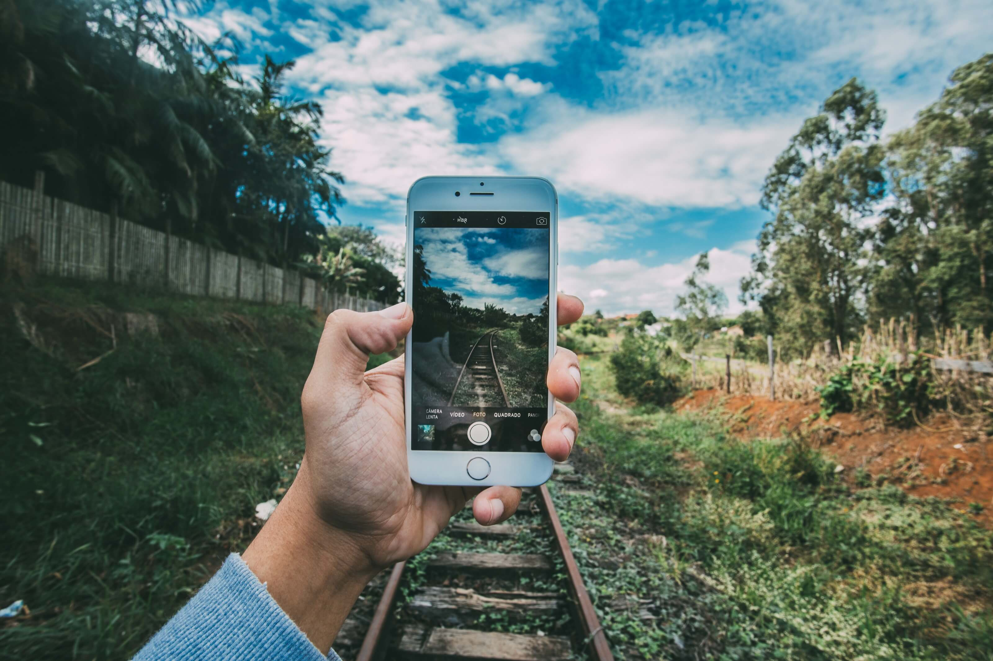 voyager avec un téléphone