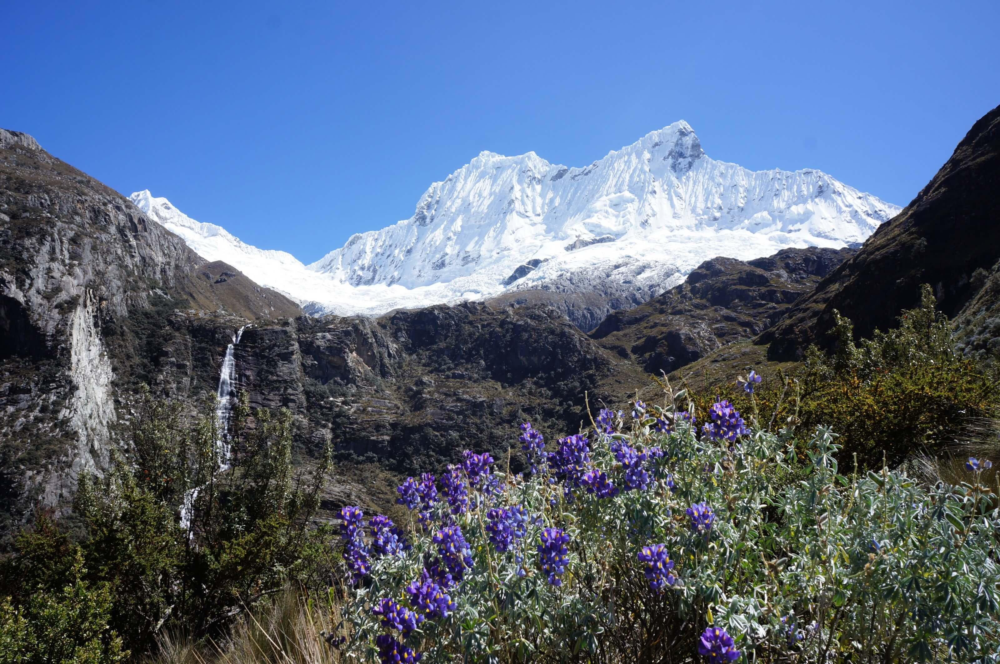 landscapes in the andes