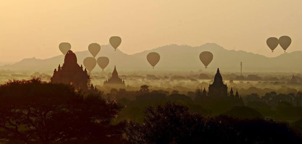 Bagan en Birmanie