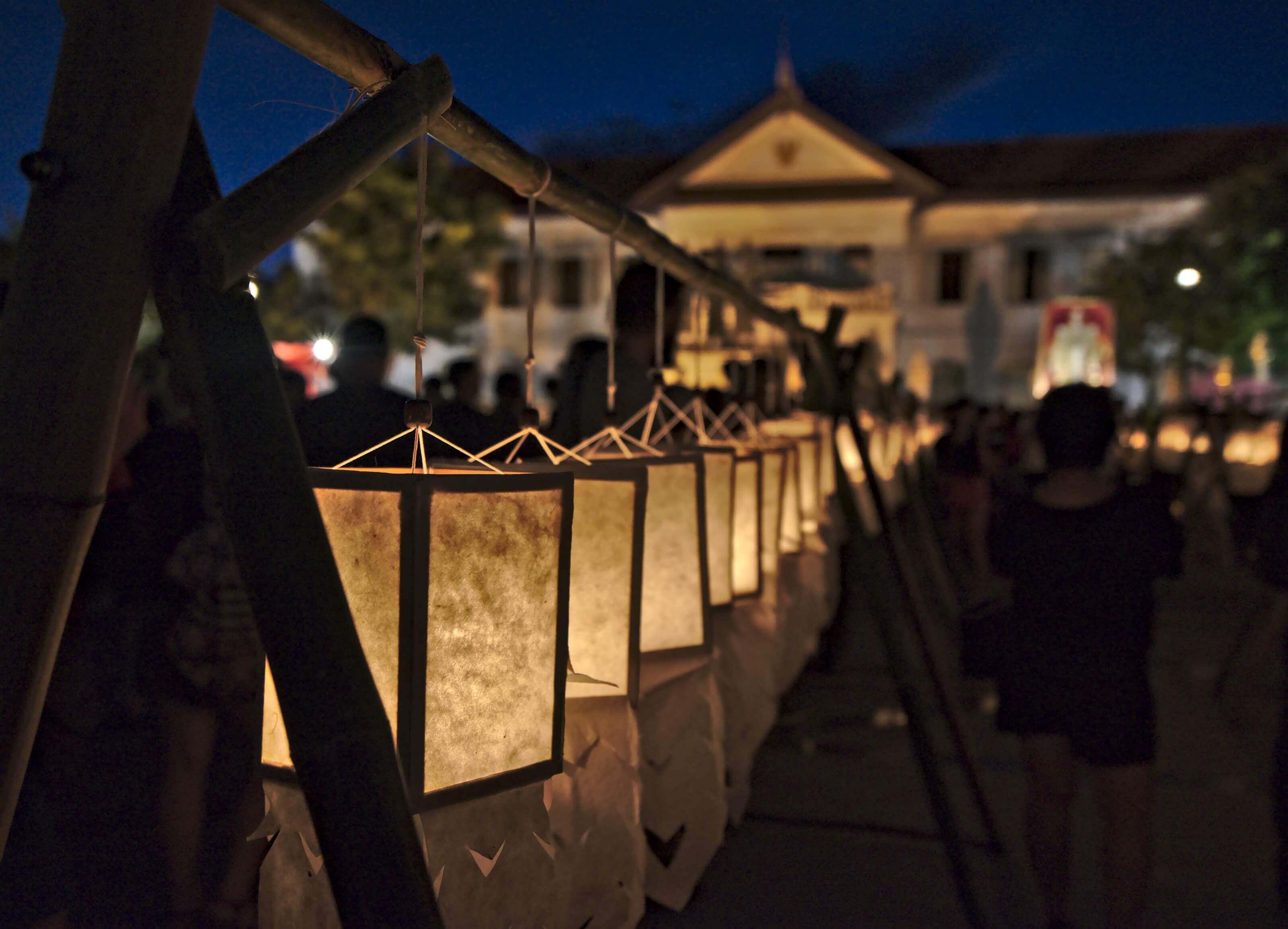 chiang mai fête des lumières
