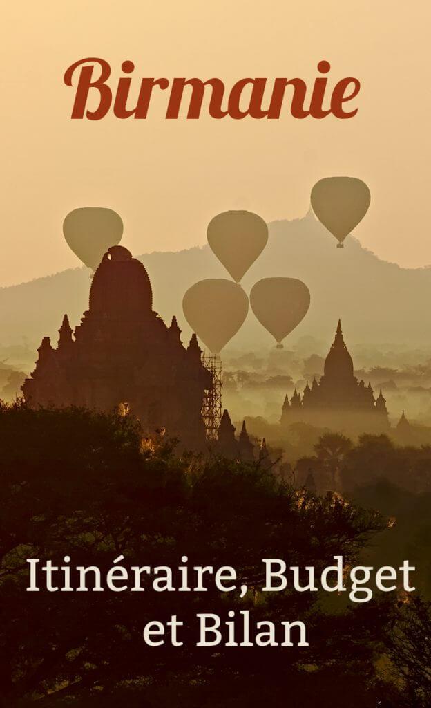 Myanmar: budget et bilan