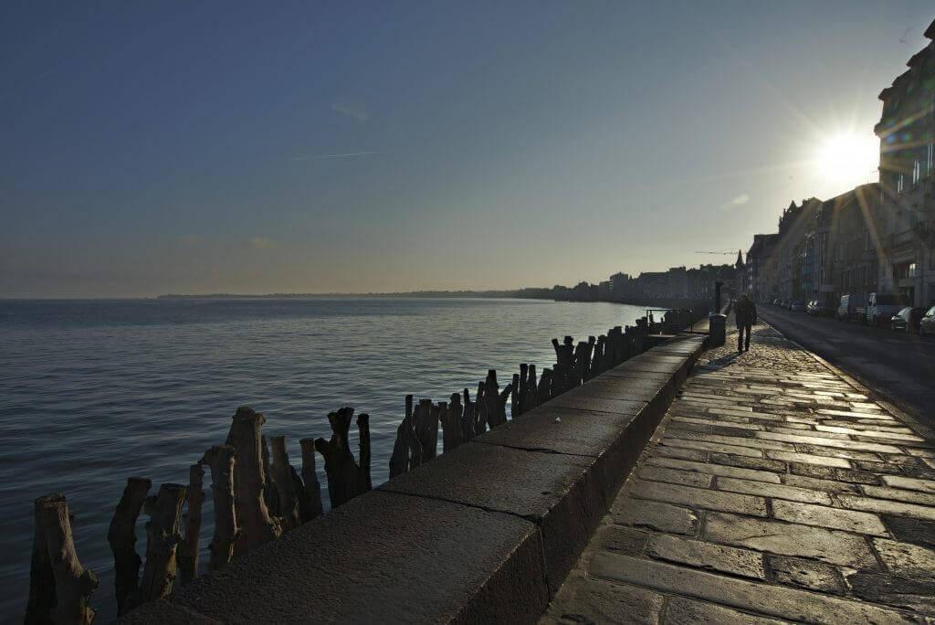 marée haute saint Malo