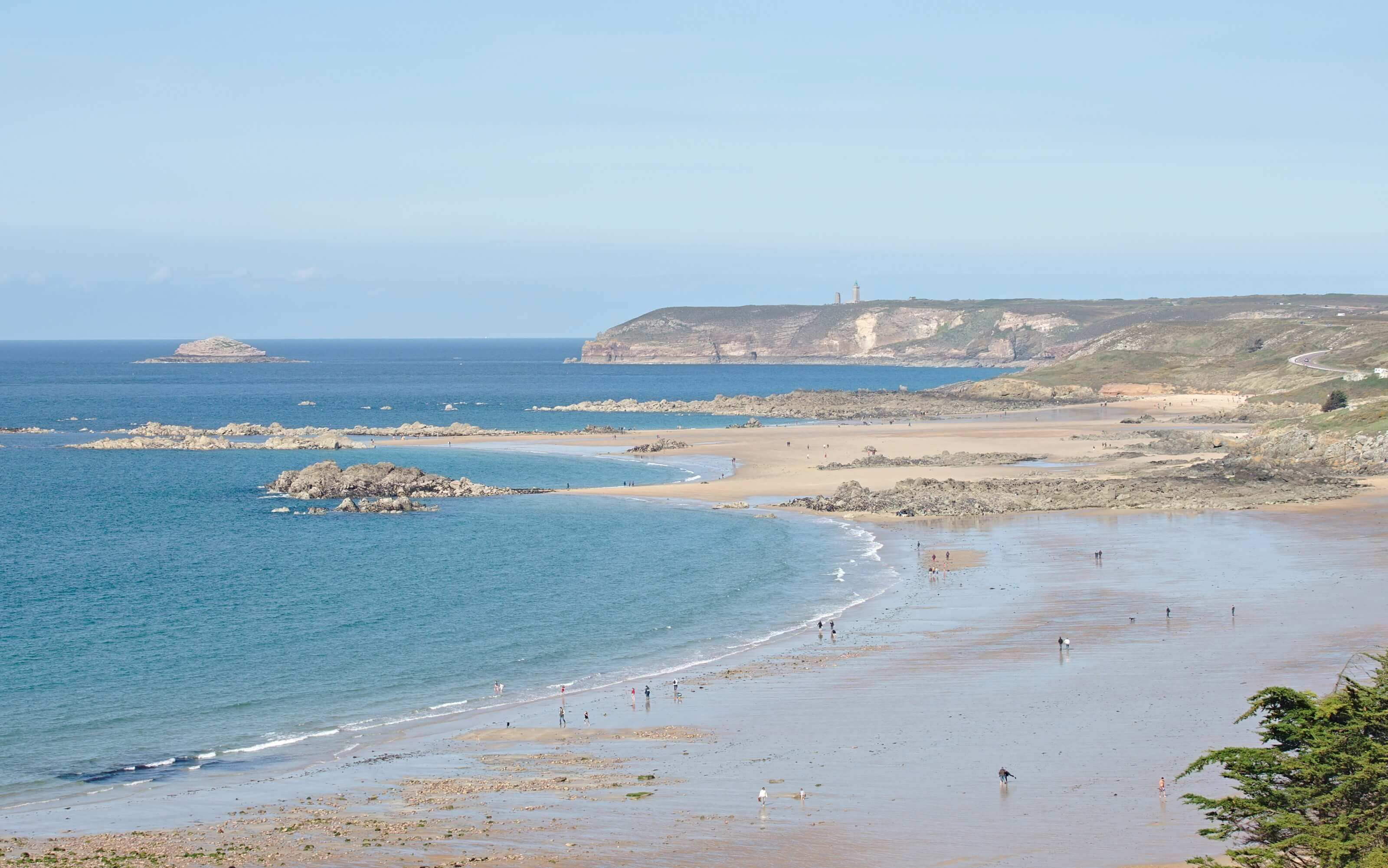 plage des sables d'or, Bretagne