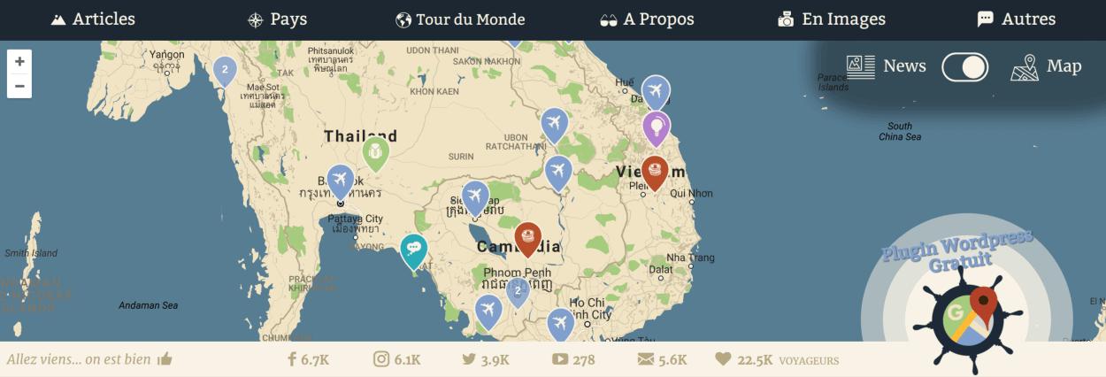 novo-map desktop
