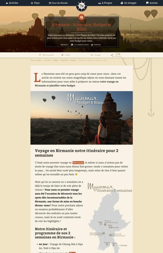 articles novo-monde