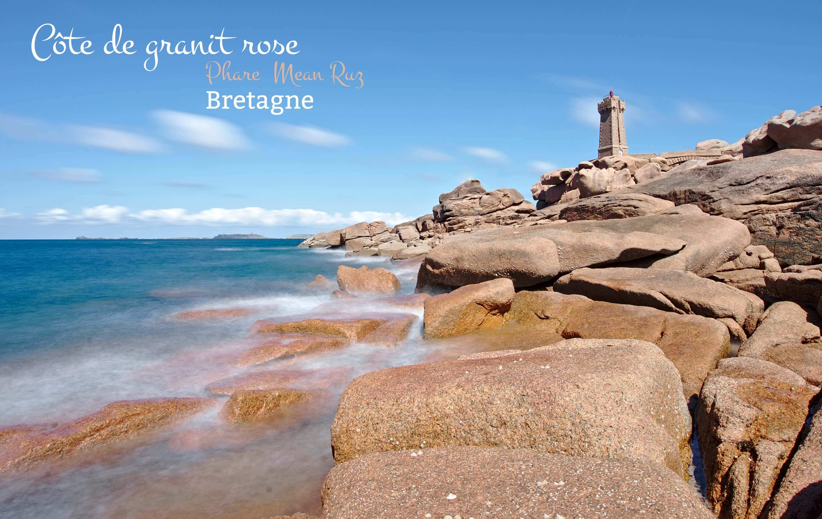 Bretagne a la d couverte de la c te de granit rose for Photo de granite