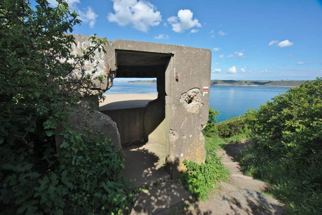 fortifications pointe des espagnols
