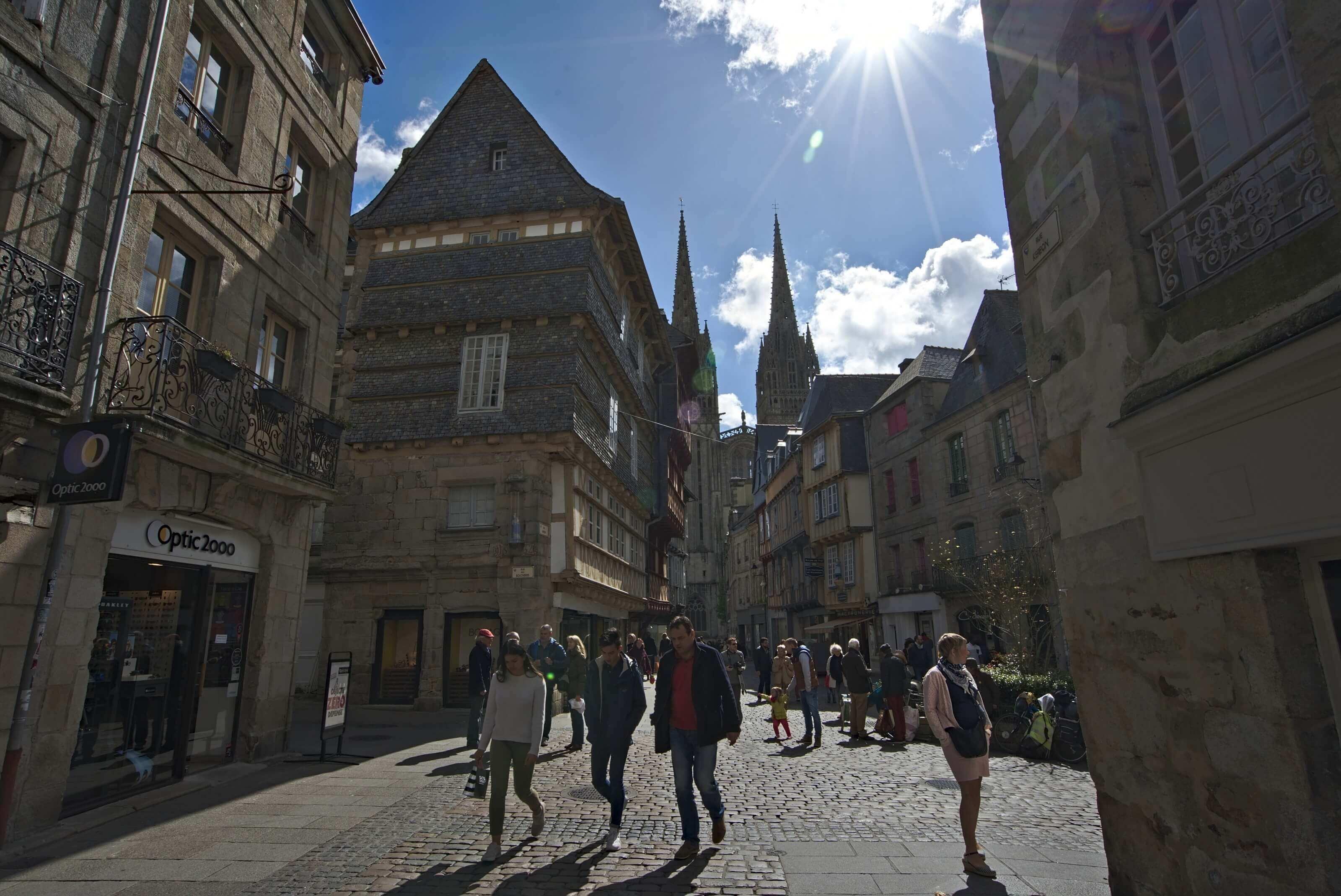 vieille ville de Quimper