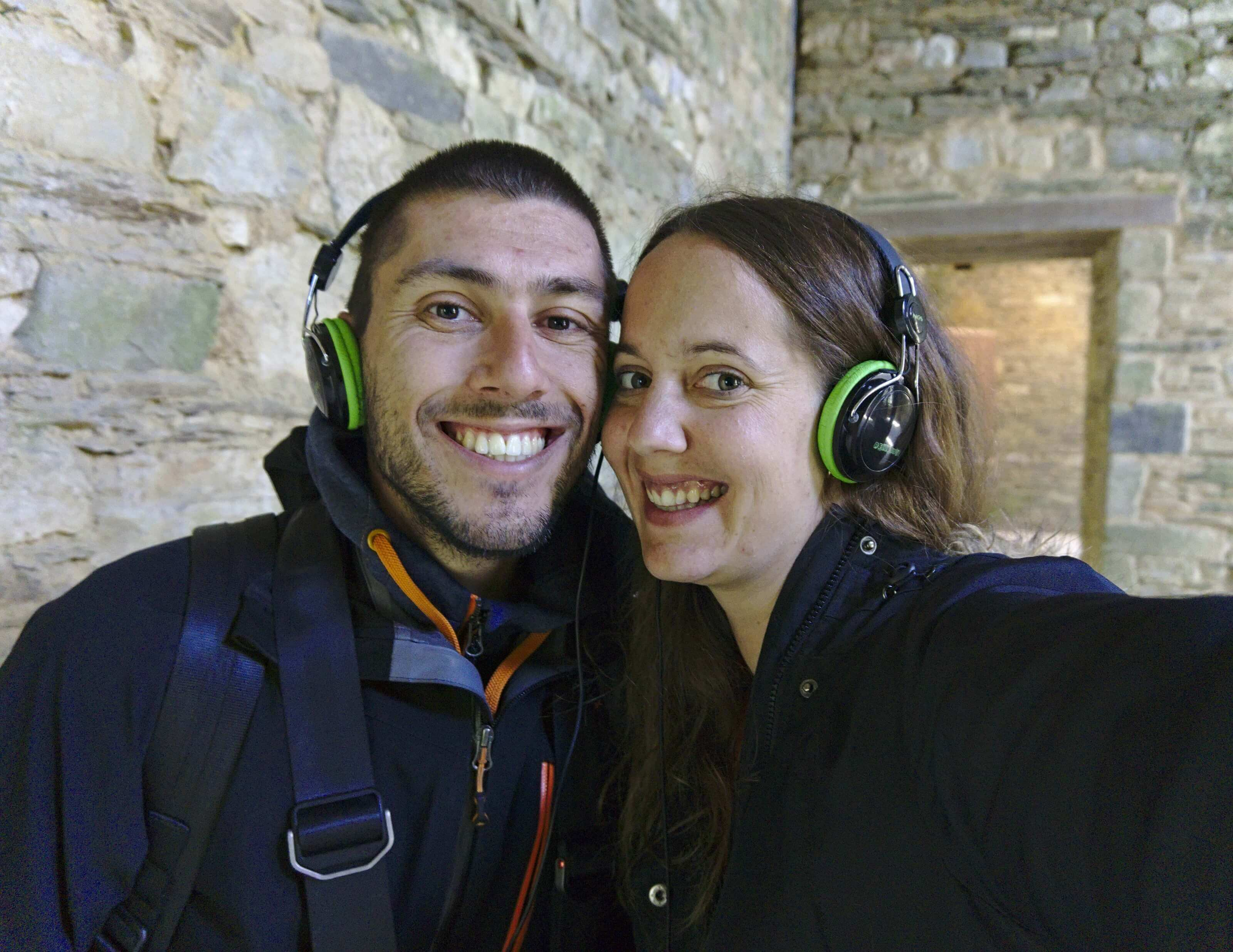 audio guide, Abbaye de Mont-Repos