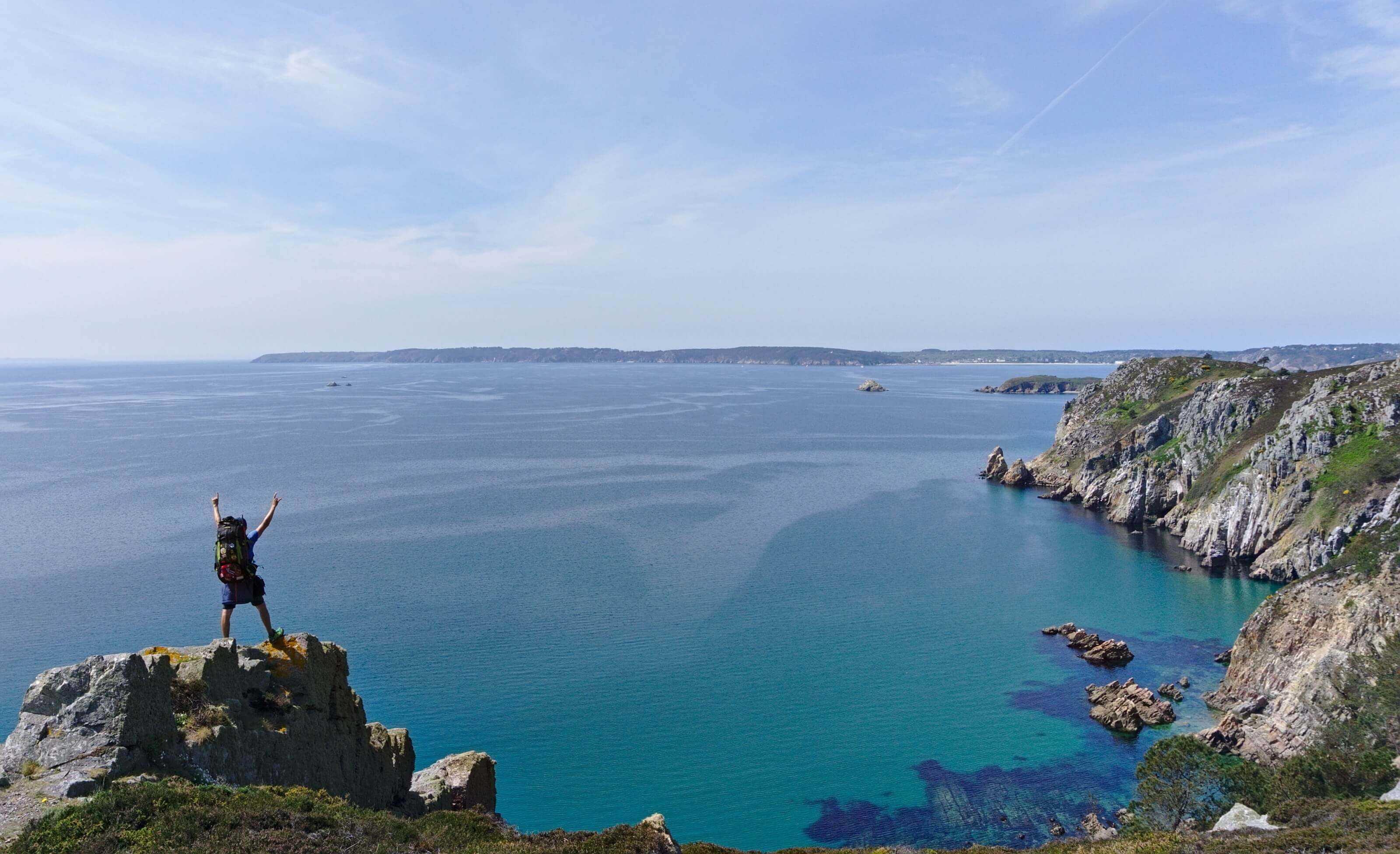 tour de la presqu'île de Crozon