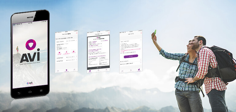 avi application mobile