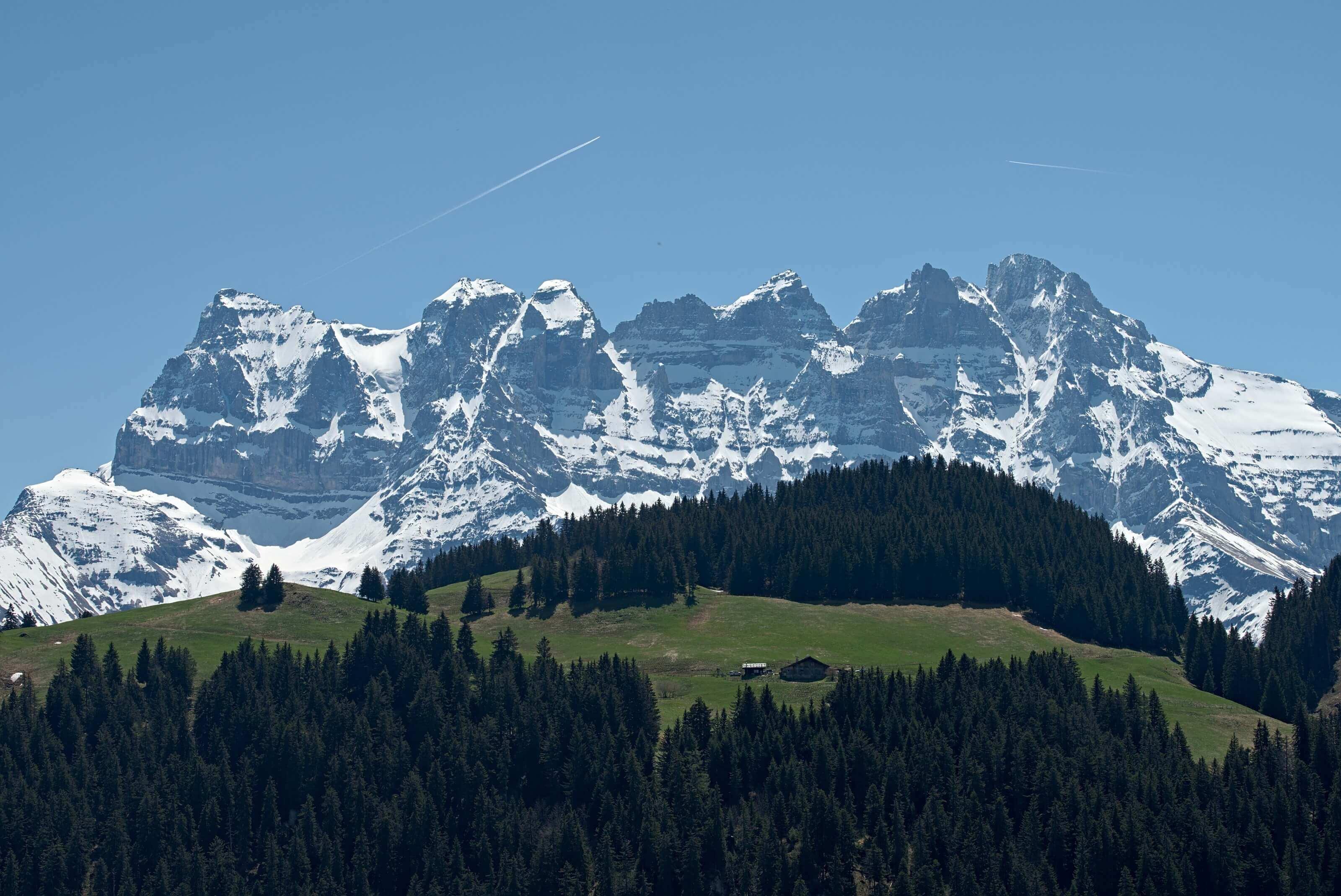 dents du midi, alpes suisse